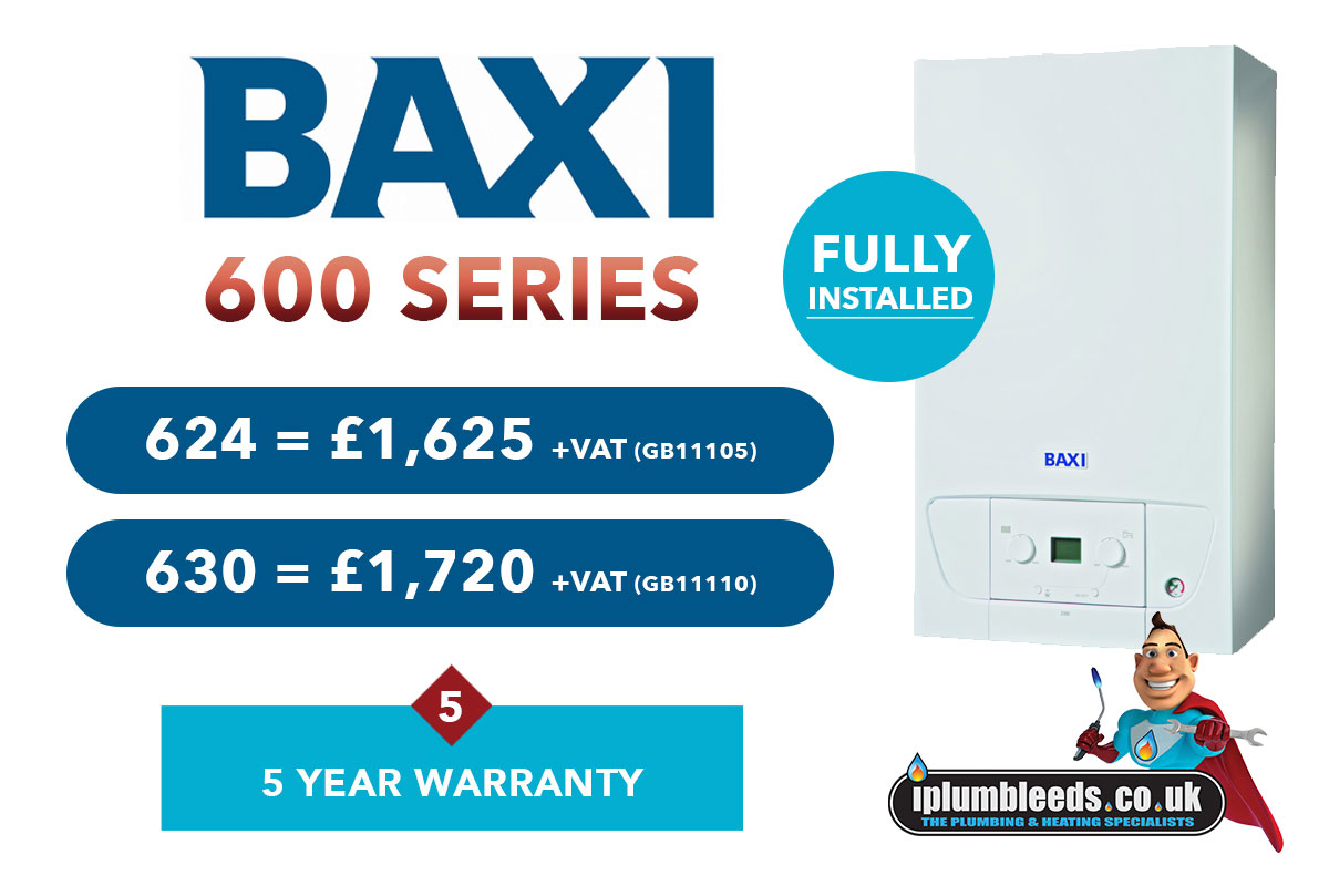 Baxi boiler offers from iPlumb Leeds