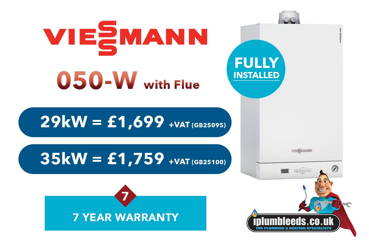 Viessmann boiler offers from iPlumb Leeds