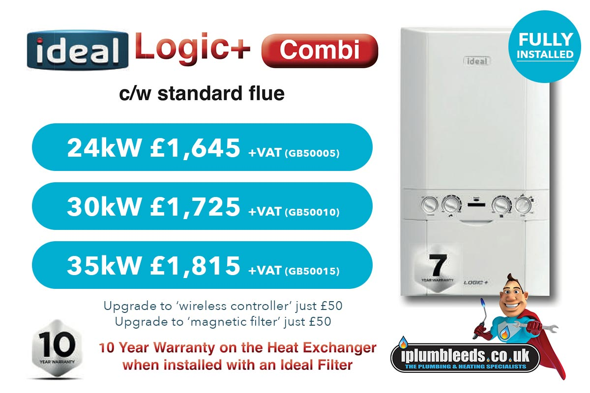 Ideal boiler offers from iPlumb Leeds