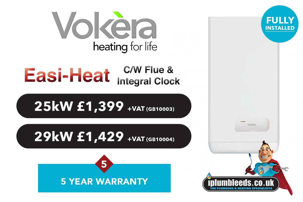 Vokera boiler offers from iPlumb Leeds