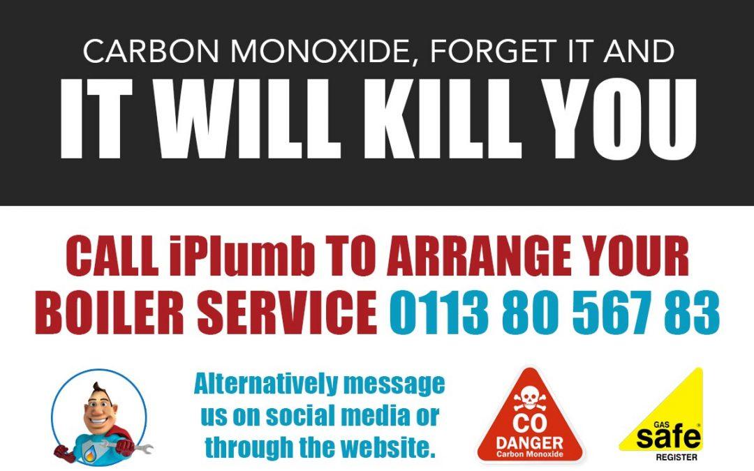 iPlumb Leeds Carbon Monoxide kills you