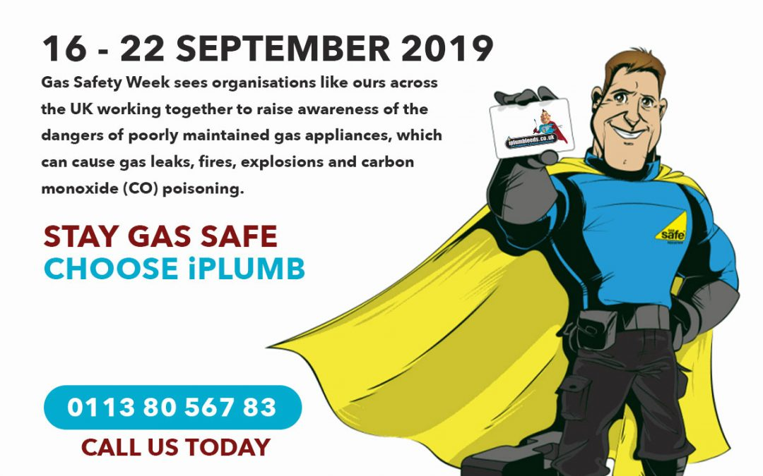 It's Now Gas Safety Week 2019 #GSW19